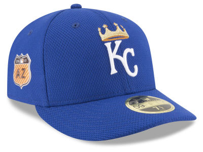 Kansas City Royals New Era 2017 MLB Diamond Era Spring Training Low Profile 59FIFTY Cap