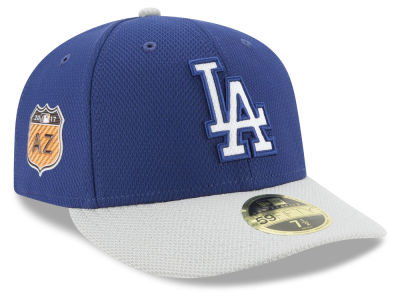 Los Angeles Dodgers New Era 2017 MLB Diamond Era Spring Training Low Profile 59FIFTY Cap