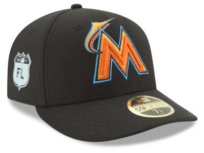 Miami Marlins New Era 2017 MLB Diamond Era Spring Training Low Profile 59FIFTY Cap