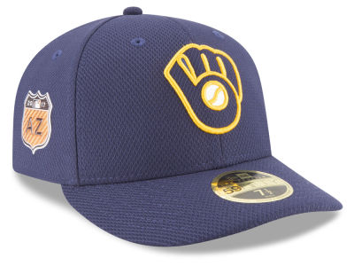 Milwaukee Brewers New Era 2017 MLB Diamond Era Spring Training Low Profile 59FIFTY Cap
