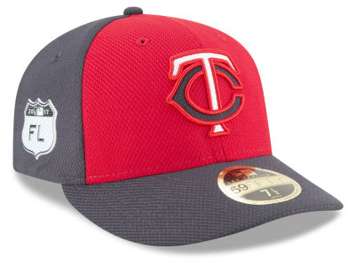 Minnesota Twins New Era 2017 MLB Diamond Era Spring Training Low Profile 59FIFTY Cap