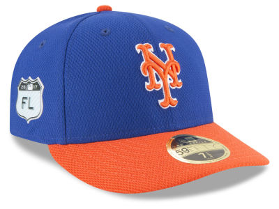 New York Mets New Era 2017 MLB Diamond Era Spring Training Low Profile 59FIFTY Cap