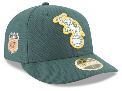 Oakland Athletics New Era 2017 MLB Diamond Era Spring Training Low Profile 59FIFTY Cap