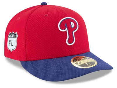 Philadelphia Phillies New Era 2017 MLB Diamond Era Spring Training Low Profile 59FIFTY Cap