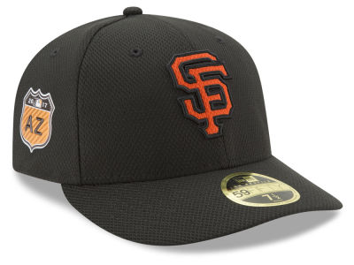 San Francisco Giants New Era 2017 MLB Diamond Era Spring Training Low Profile 59FIFTY Cap