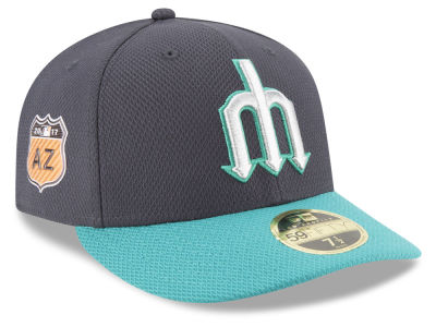 Seattle Mariners New Era 2017 MLB Diamond Era Spring Training Low Profile 59FIFTY Cap