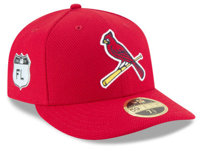 St. Louis Cardinals New Era 2017 MLB Diamond Era Spring Training Low Profile 59FIFTY Cap