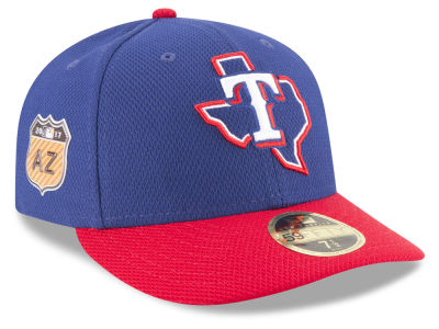 Texas Rangers New Era 2017 MLB Diamond Era Spring Training Low Profile 59FIFTY Cap