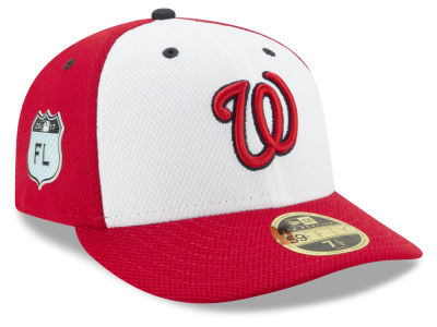 Washington Nationals New Era 2017 MLB Diamond Era Spring Training Low Profile 59FIFTY Cap