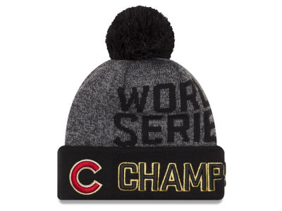 Chicago Cubs New Era MLB 2016 World Series Locker Room Knit Cap