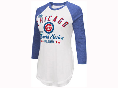 Chicago Cubs MLB Women's 2016 World Series Participant Raglan T-Shirt
