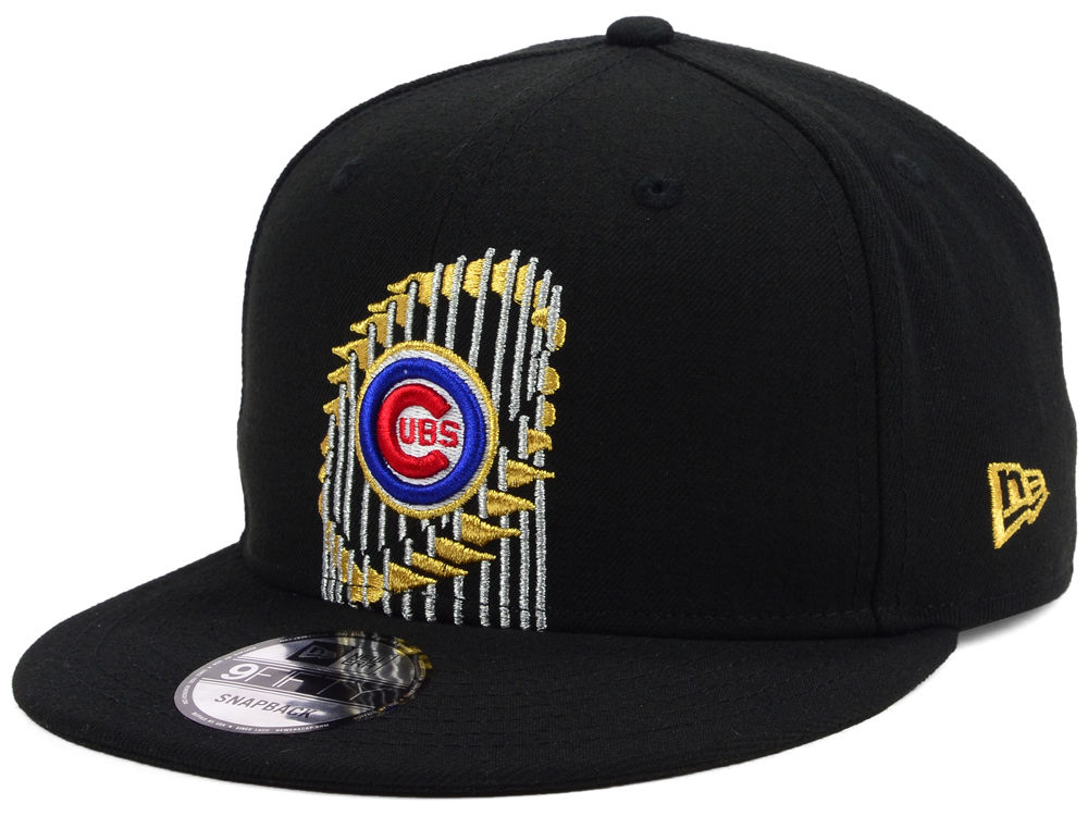 Chicago Cubs New Era MLB World Series Trophy 9FIFTY Snapback Cap ... bf3b9b4d31d