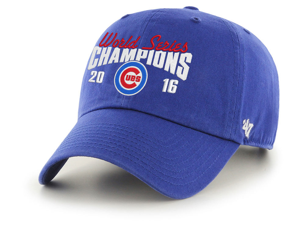 Chicago Cubs  47 MLB 2016 World Series Champ  47 CLEAN UP Cap  306a9fa2d