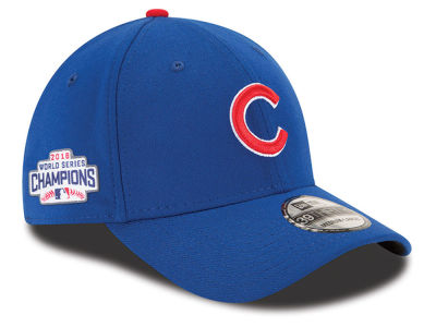 Chicago Cubs New Era MLB 2016 World Series Champ Side Patch 39THIRTY Cap