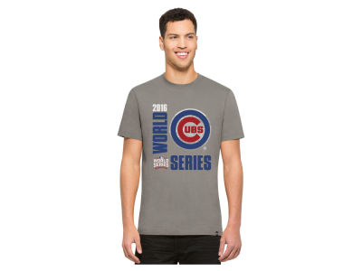 Chicago Cubs MLB Men's World Series Bound Stadium Flanker T-Shirt