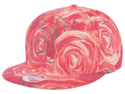 Beauty and the Beast New Era All Over Rose 9FIFTY Snapback Cap