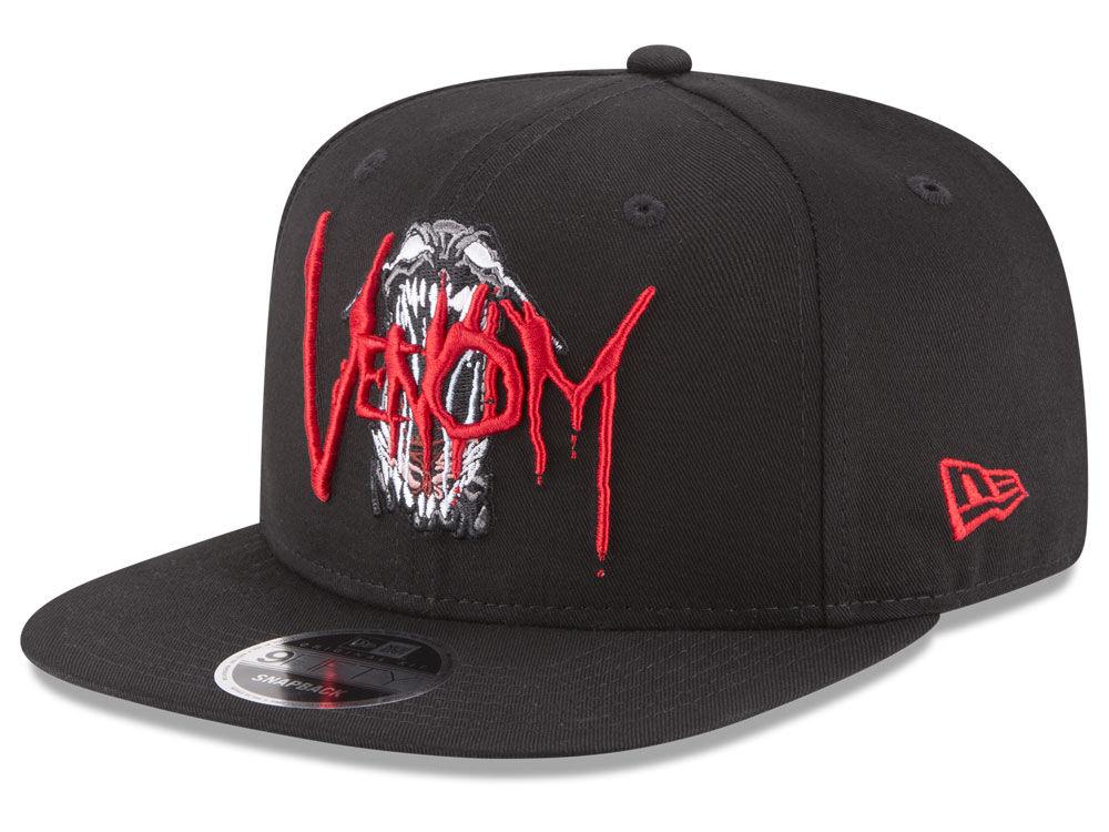 New Era Marvel Rock Venom Original Fit 9FIFTY Snapback Cap  beeb5abdb79
