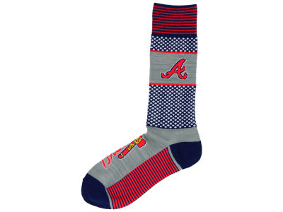 Atlanta Braves For Bare Feet Mojo 505 Socks