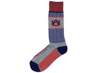 Auburn Tigers For Bare Feet Mojo 505 Socks