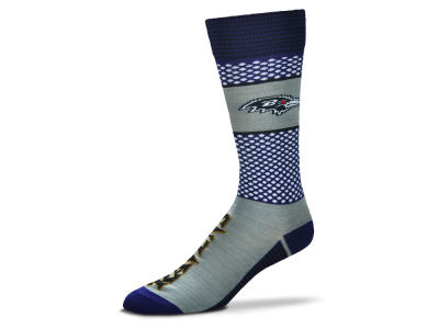 Baltimore Ravens For Bare Feet Mojo 505 Socks