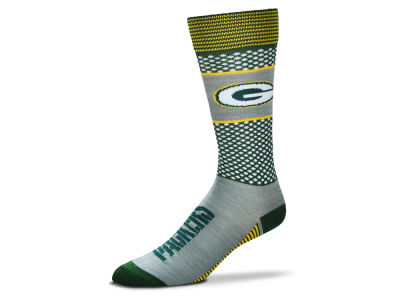 Green Bay Packers For Bare Feet Mojo 505 Socks