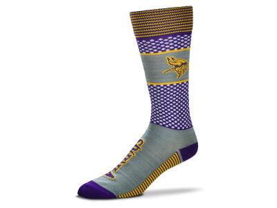 Minnesota Vikings For Bare Feet Mojo 505 Socks