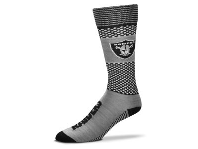 Oakland Raiders For Bare Feet Mojo 505 Socks