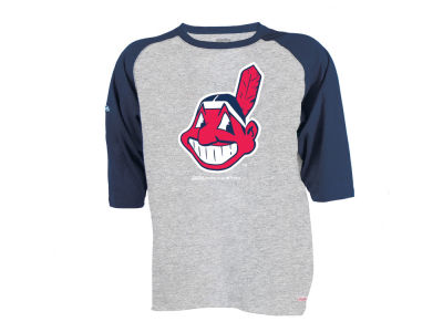 Cleveland Indians MLB Youth Chase Raglan T-Shirt