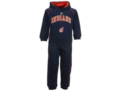 Cleveland Indians Majestic MLB Toddler Lil Fan Fleece Set