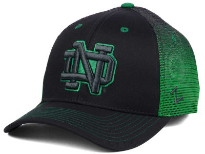 Notre Dame Fighting Irish Zephyr Jolt Trucker Mesh Snapback Cap