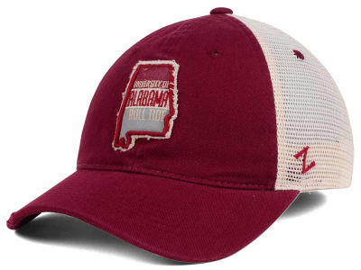 Alabama Crimson Tide Zephyr Roadtrip Patch Mesh Cap