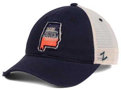 Auburn Tigers Zephyr Roadtrip Patch Mesh Cap