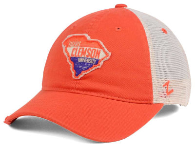 Clemson Tigers Zephyr Roadtrip Patch Mesh Cap