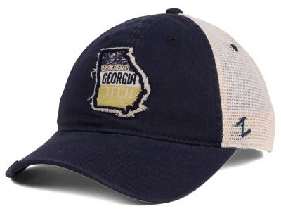Georgia-Tech Zephyr Roadtrip Patch Mesh Cap