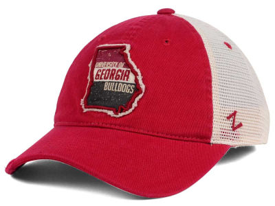 Georgia Bulldogs Zephyr Roadtrip Patch Mesh Cap