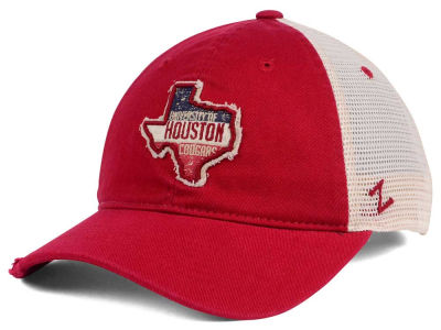 Houston Cougars Zephyr Roadtrip Patch Mesh Cap