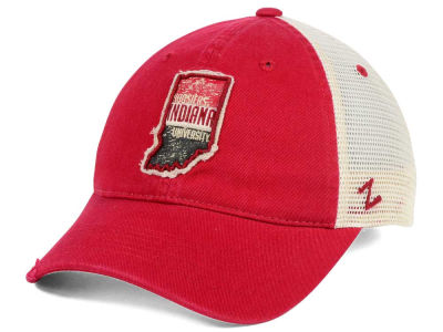 Indiana Hoosiers Zephyr Roadtrip Patch Mesh Cap