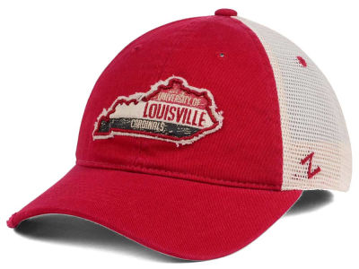 Louisville Cardinals Zephyr Roadtrip Patch Mesh Cap