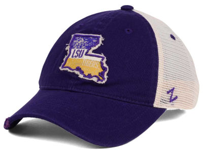 LSU Tigers Zephyr Roadtrip Patch Mesh Cap