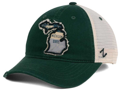 Michigan State Spartans Zephyr Roadtrip Patch Mesh Cap