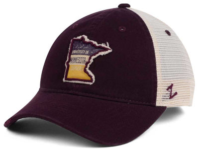 Minnesota Golden Gophers Zephyr Roadtrip Patch Mesh Cap