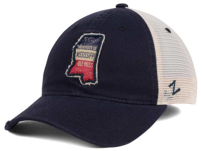 Ole Miss Rebels Zephyr Roadtrip Patch Mesh Cap