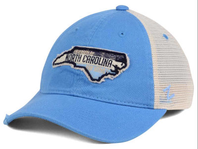 North Carolina Tar Heels Zephyr Roadtrip Patch Mesh Cap