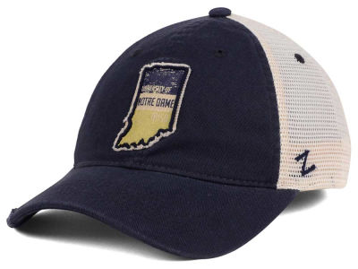 Notre Dame Fighting Irish Zephyr Roadtrip Patch Mesh Cap