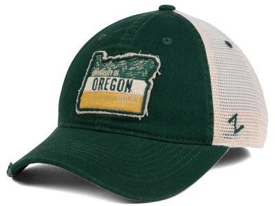 Oregon Ducks Zephyr Roadtrip Patch Mesh Cap