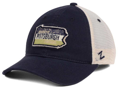Pittsburgh Panthers Zephyr Roadtrip Patch Mesh Cap