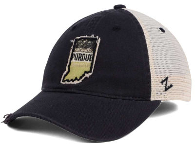 Purdue Boilermakers Zephyr Roadtrip Patch Mesh Cap