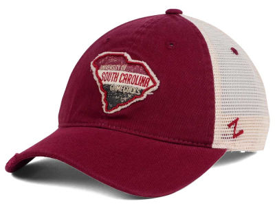 South Carolina Gamecocks Zephyr Roadtrip Patch Mesh Cap