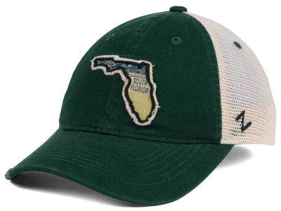 South Florida Bulls Zephyr Roadtrip Patch Mesh Cap