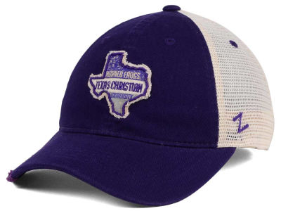 Texas Christian Horned Frogs Zephyr Roadtrip Patch Mesh Cap